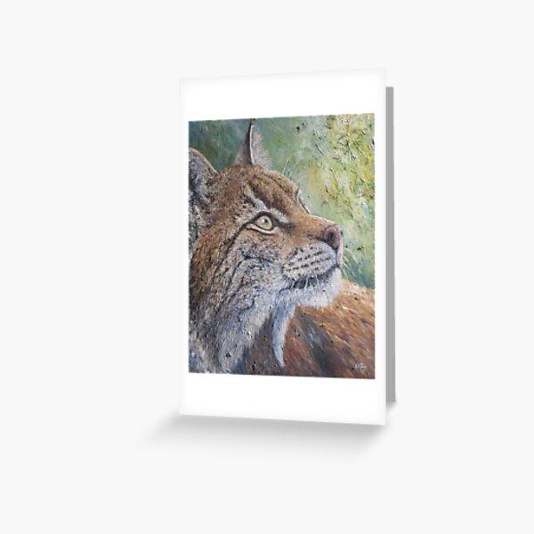 Eurasian Lynx (Lynx lynx)  Greeting Card