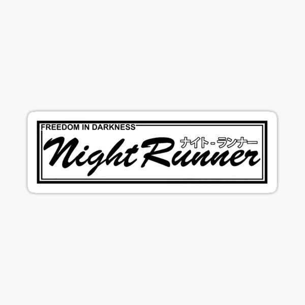 Accordeur à la dérive JDM Racing Night Runner OG V Sticker
