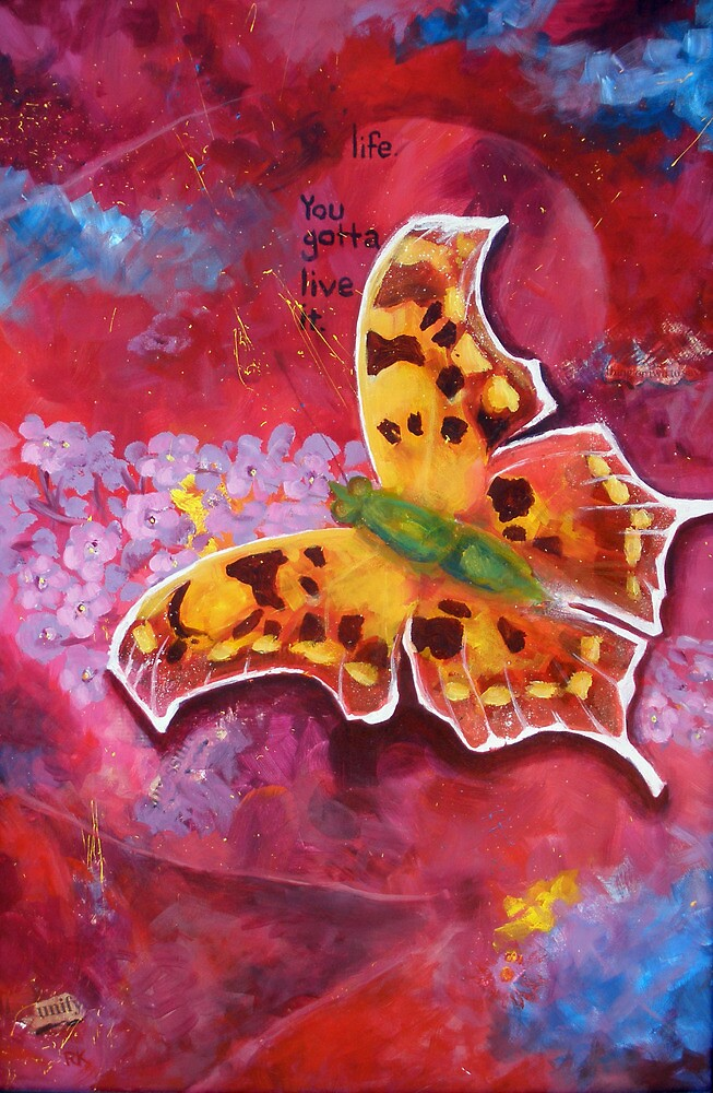 Red Butterfly by Becky Kulka
