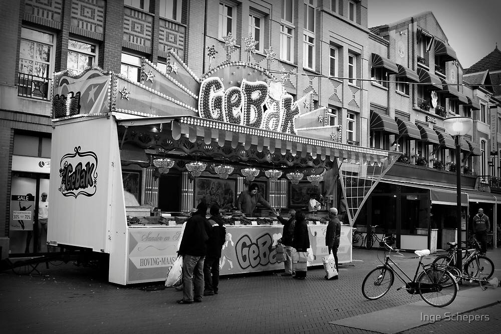 Baked Goods Food Stand by Inge Schepers