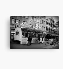 Baked Goods Food Stand Canvas Print