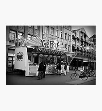 Baked Goods Food Stand Photographic Print