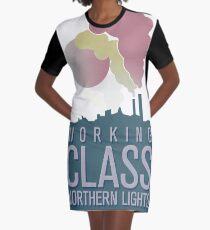 Working Class Northern Lights Graphic T-Shirt Dress