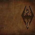Skyrim Worn Leather Emboss von C. C. Barrett