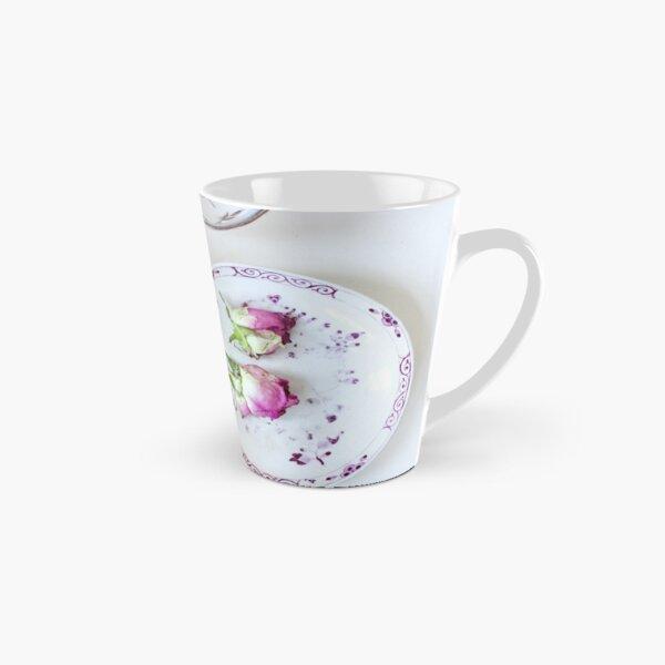 Pretty Vintage Teacups Tall Mug