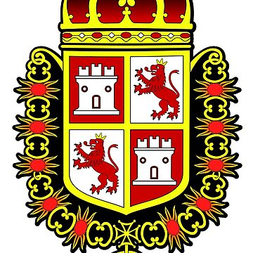 Spanish Coat of Arms at the Castillo de San Marcos by DesignComputer