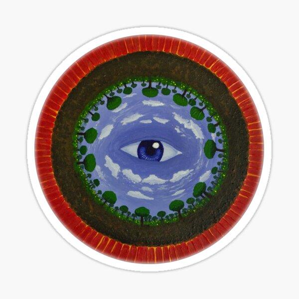 Acrylic Painting: Awareness Sticker