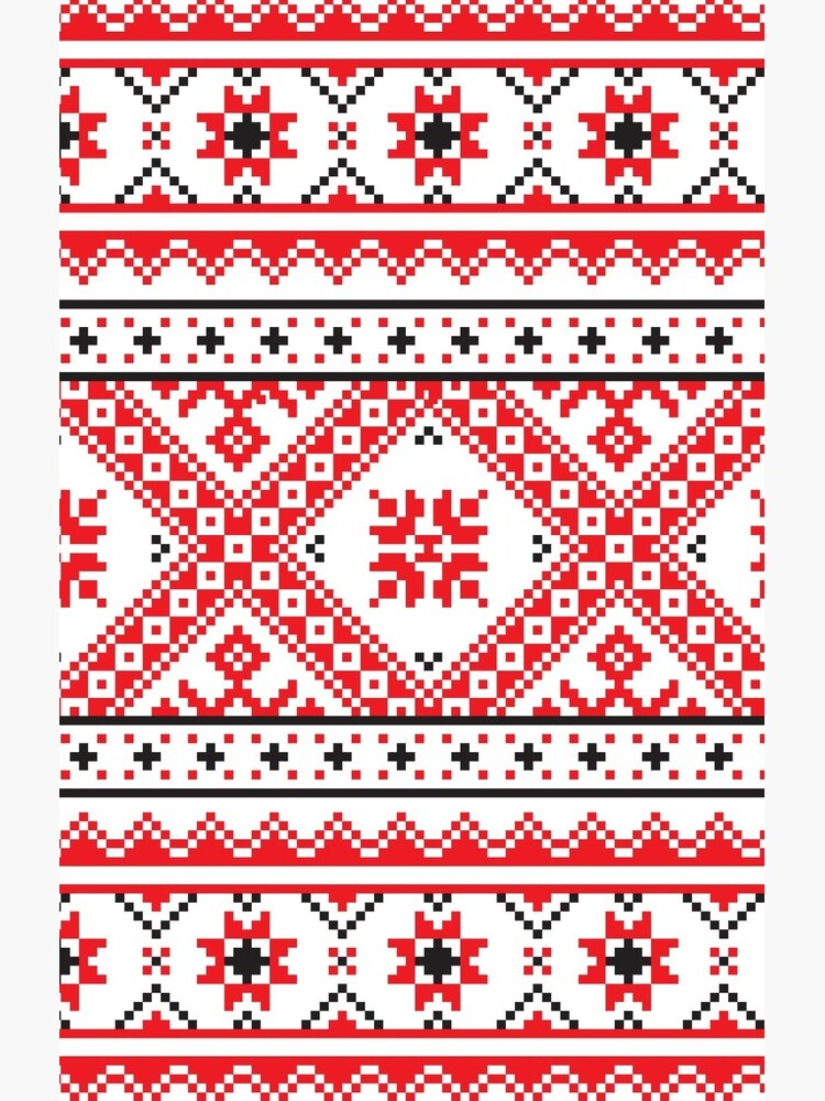 #Ukraine #Pattern - Ukrainian Embroidery: вишивка, vyshyvka #UkrainianPattern #UkrainianEmbroidery by znamenski