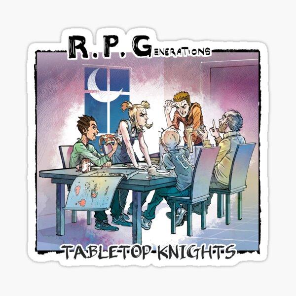 RPGenerations: Tabletop Knights Sticker