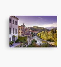 Pontremoli - Italy Canvas Print