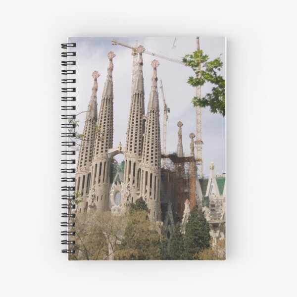 Sagrada Familia - Barcelona Spiral Notebook