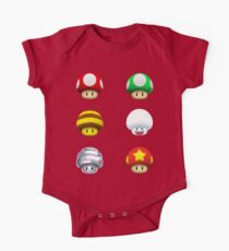Nintendo - Every Mushroom Kids Clothes