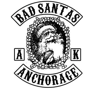 Bad Santa Club Colors  by mkkessel