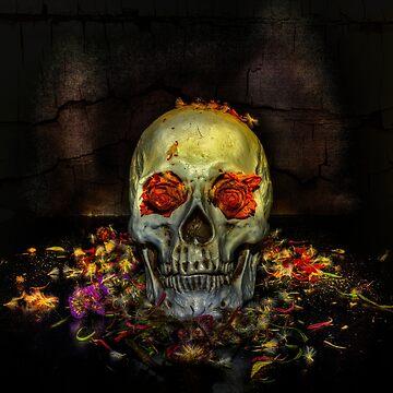 Rose Skull by Nigdaw