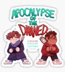 Apocalypse of the Damned - Two Player Mode (BMC) Sticker
