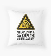 Risk of Explosion - Michael Bay Floor Pillow