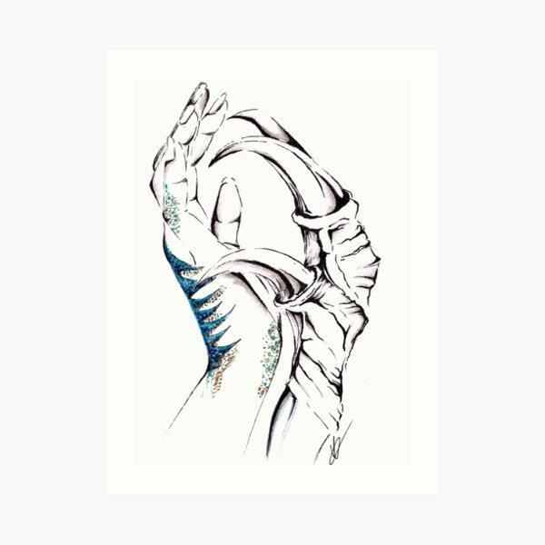 A Raptor's Mark Art Print