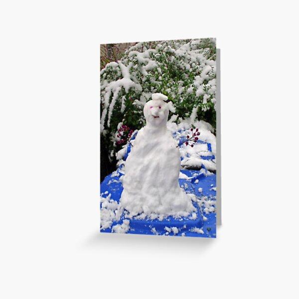 Mr. Winter Greeting Card