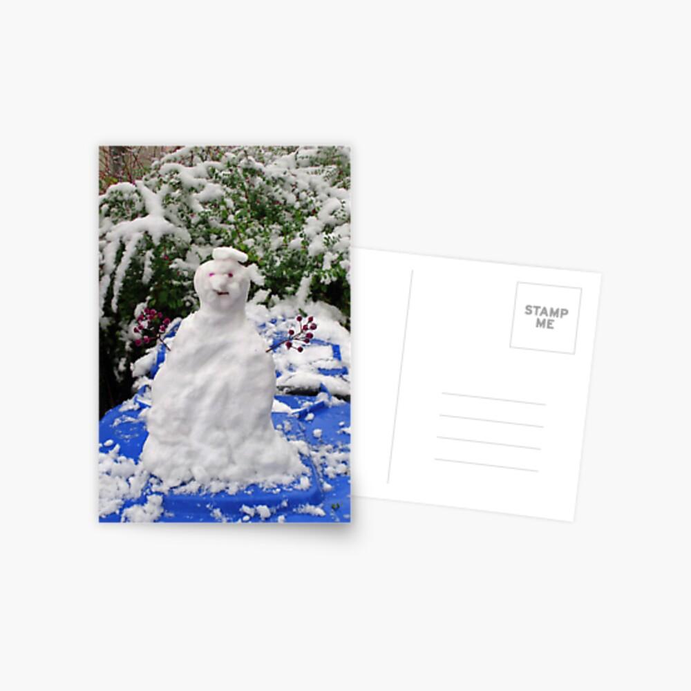 Mr. Winter Postcard