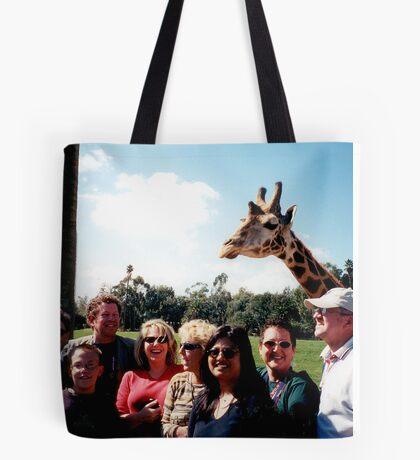 Giraffe and group Tote Bag