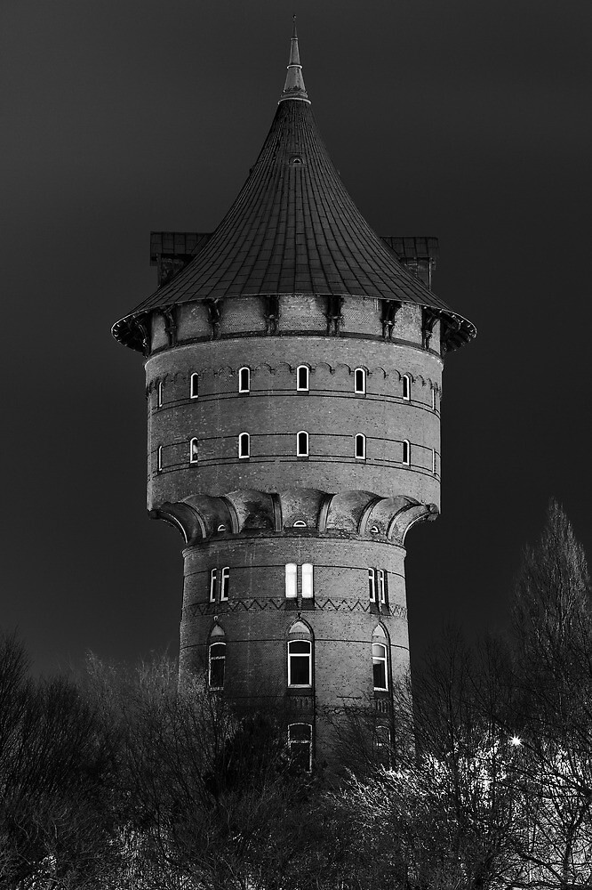 the old water tower of Cuxhaven by Ronny Stiffel