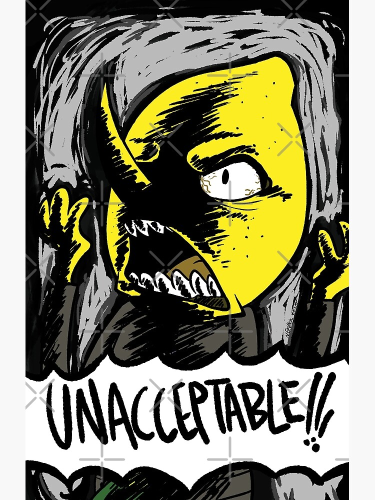 «INACCEPTABLE!!!» par Eevachu