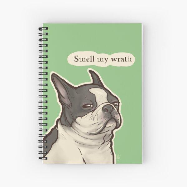 Boston Terrible Spiral Notebook
