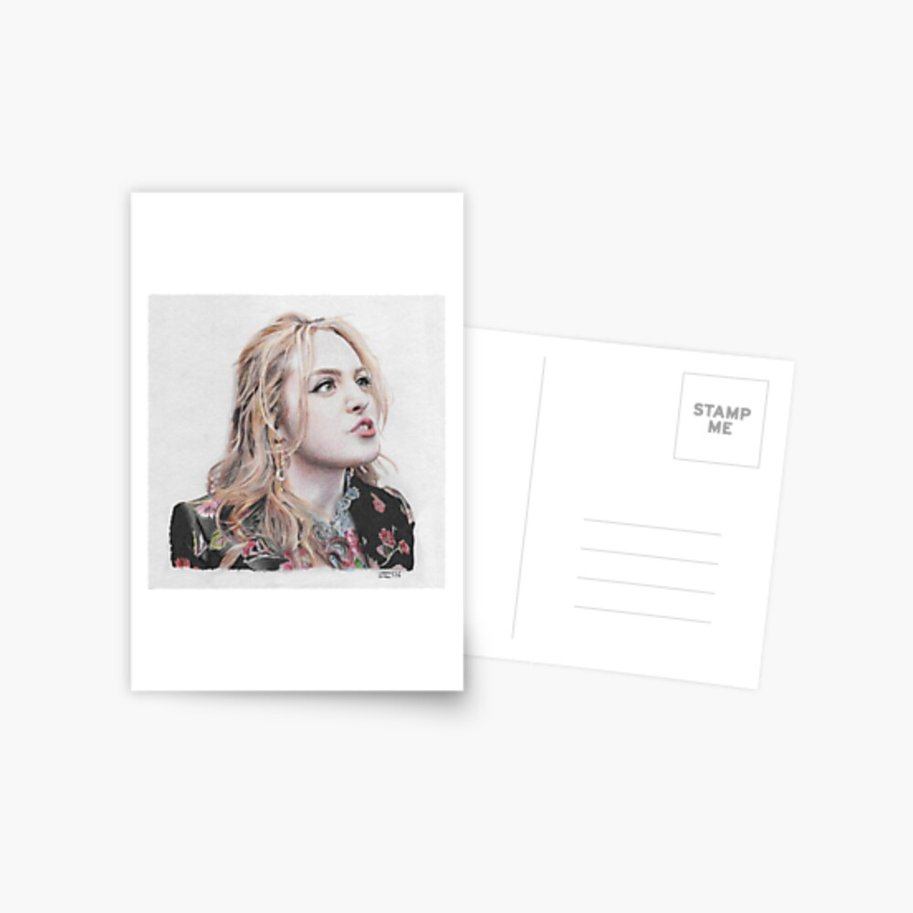 Fallon Carrington - armes kleines reiches Mädchen Postkarte
