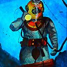 Deep Sea Diver by Russell Halsema