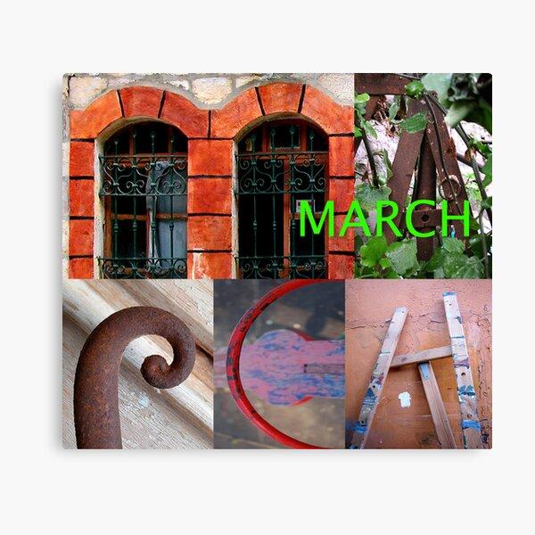 March Canvas Print