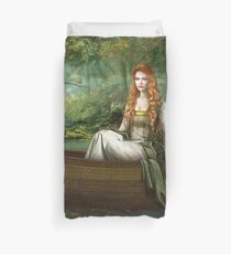 Lady of the Rhine Duvet Cover