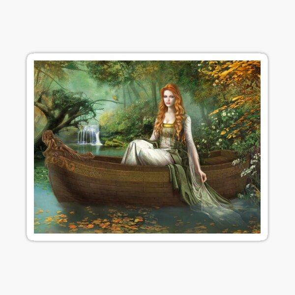 Lady of the Rhine Sticker
