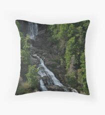 Whitewater Falls Throw Pillow