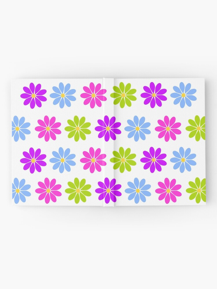 Alternate view of Colorful Flowers Hardcover Journal