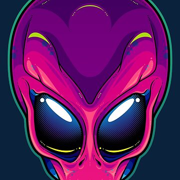 Magenta Alien by artdyslexia