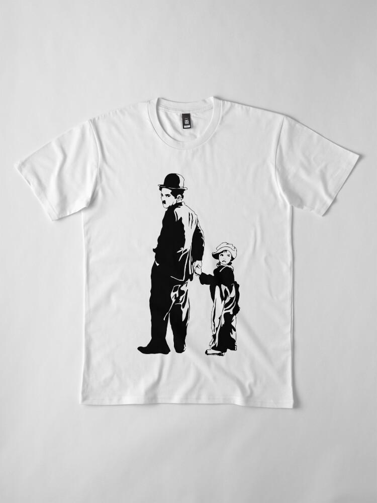 Vista alternativa de Camiseta premium Chaplin