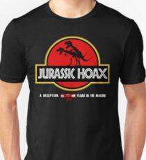 Dinosaur Hoax Unisex T-Shirt