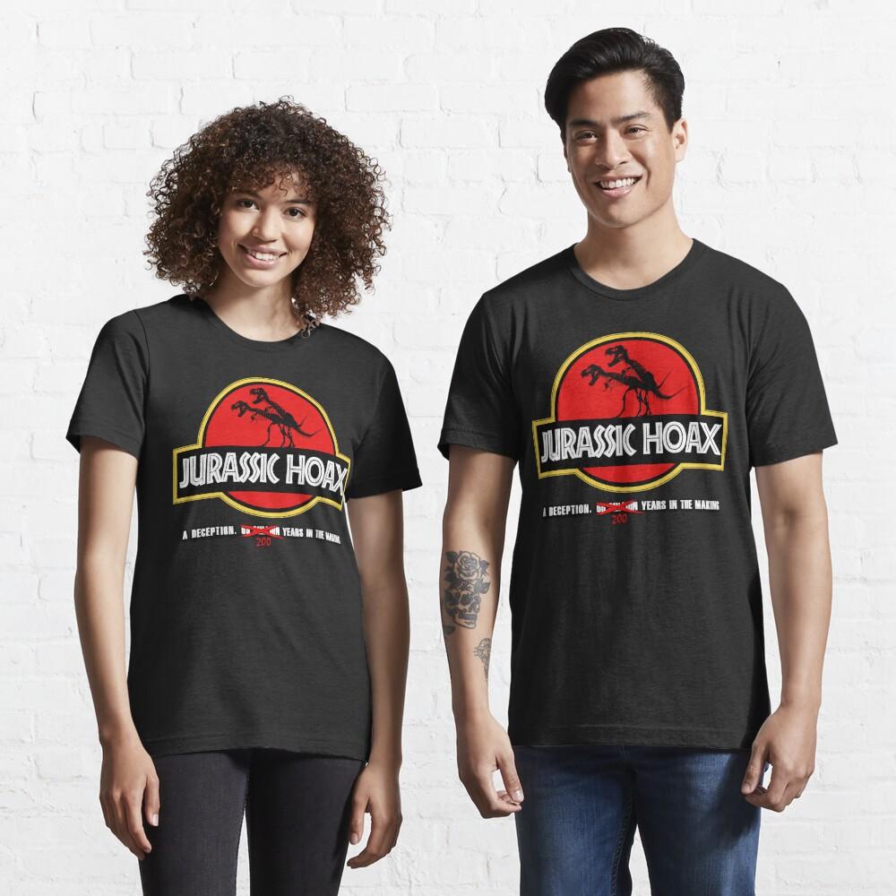 Dinosaur Hoax Essential T-Shirt
