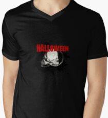 Happy Halloween - Cemetery Skull Scary Party Gift Men's V-Neck T-Shirt