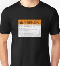 Warning! Shadow Travel Not Recommended T-Shirt