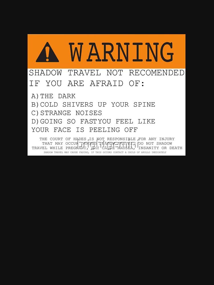 ¡Advertencia! Shadow Travel no recomendado de brightgemini