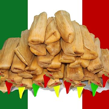 Tamales with Dancing Peppers by Gravityx9