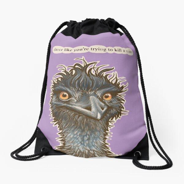 Dance Emu Drawstring Bag