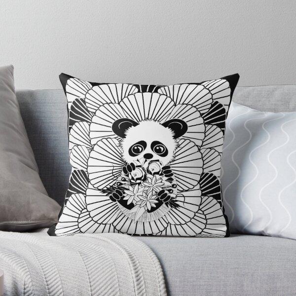 Xiang Xiang Giant Baby Panda Throw Pillow