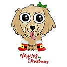 Golden Puppy Christmas by orichalbaud