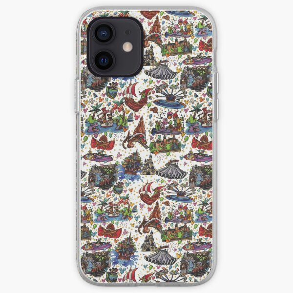 Attractions of the World iPhone Soft Case