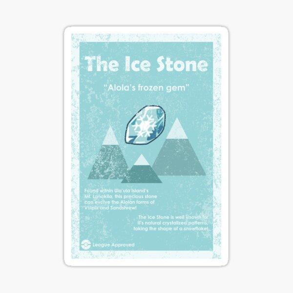 Eisstein Werbung Sticker