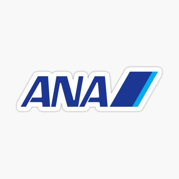 ANA airline logo Sticker