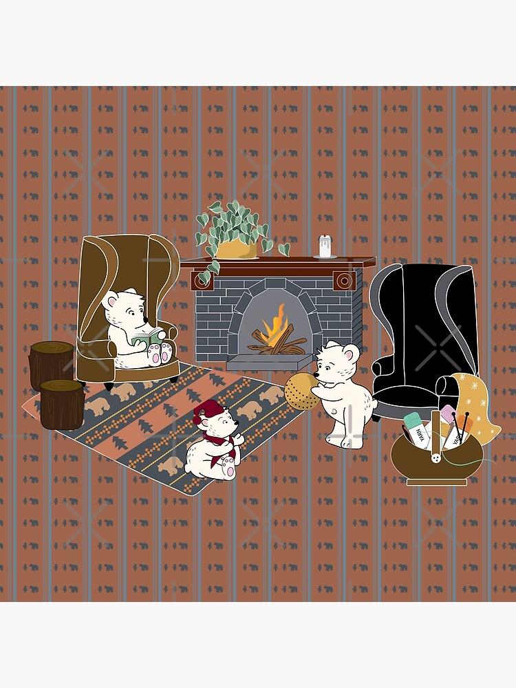 Fair Isle Bear Family by CreativeContour