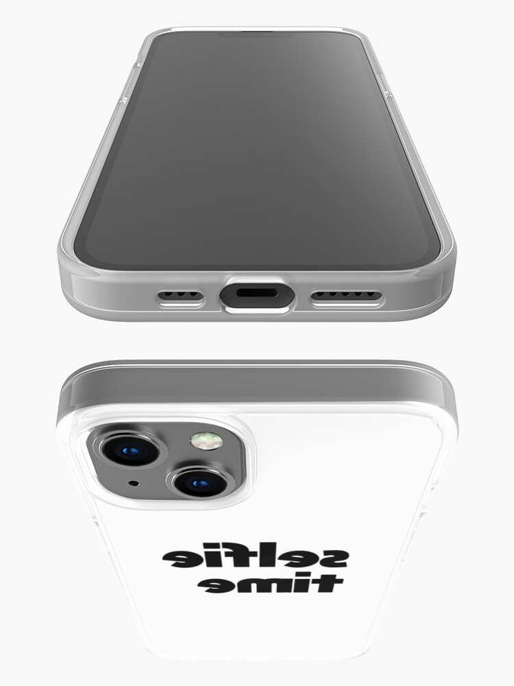 Alternate view of Selfie Time  iPhone Case